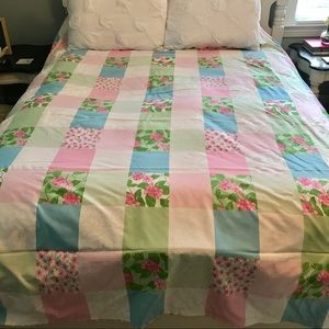 Lilly Pulitzer *Reversible* Duvet Cover Full Queen